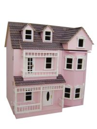 wooden dolls house victorian