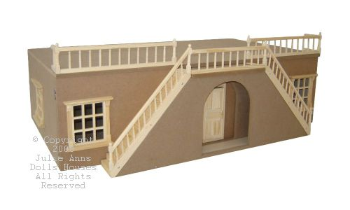 "Arch front Large mayfair Basement, 32"" wide, UNPAINTED"